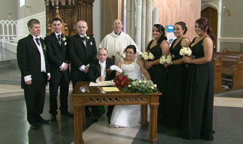carlow wedding party